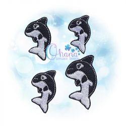 Orca Feltie Embroidery Design