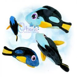 Regal Blue Tang Stuffie