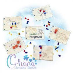 Safari Tangram Quiet Book