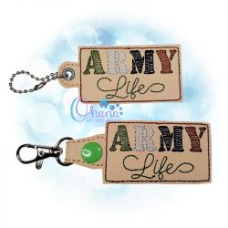 Army Life Key Chain
