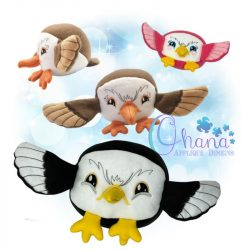 Ball Eagle Stuffie Embroidery