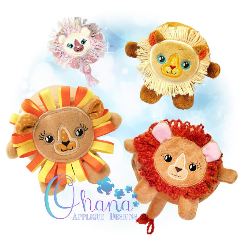 OAD Ball Lion Stuffie Multi 80072