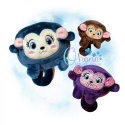 Ball Monkey Stuffie Embroidery
