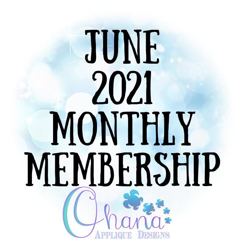 OAD June 2021 Monthly Membership
