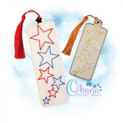 Star Bookmark Embroidery Design