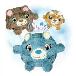 Ball Bear Stuffie Embroidery