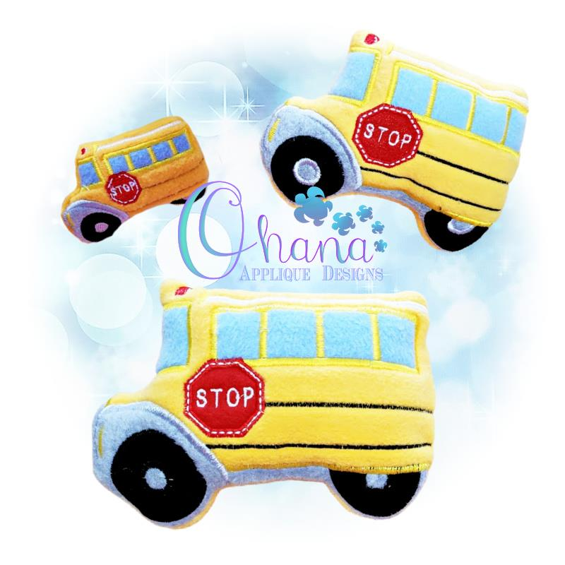 OAD Bus Stuffie SJ 80072