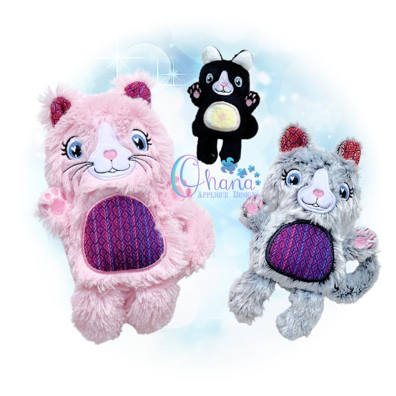OAD Cat Stuffie Multi RG 80072