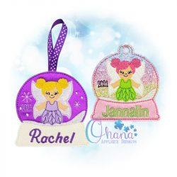Fairy Ornament Embroidery Design