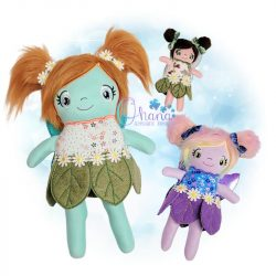 Fairy Stuffie Embroidery Design