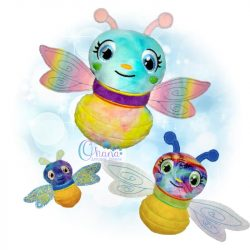 Firefly Stuffie Embroidery Design