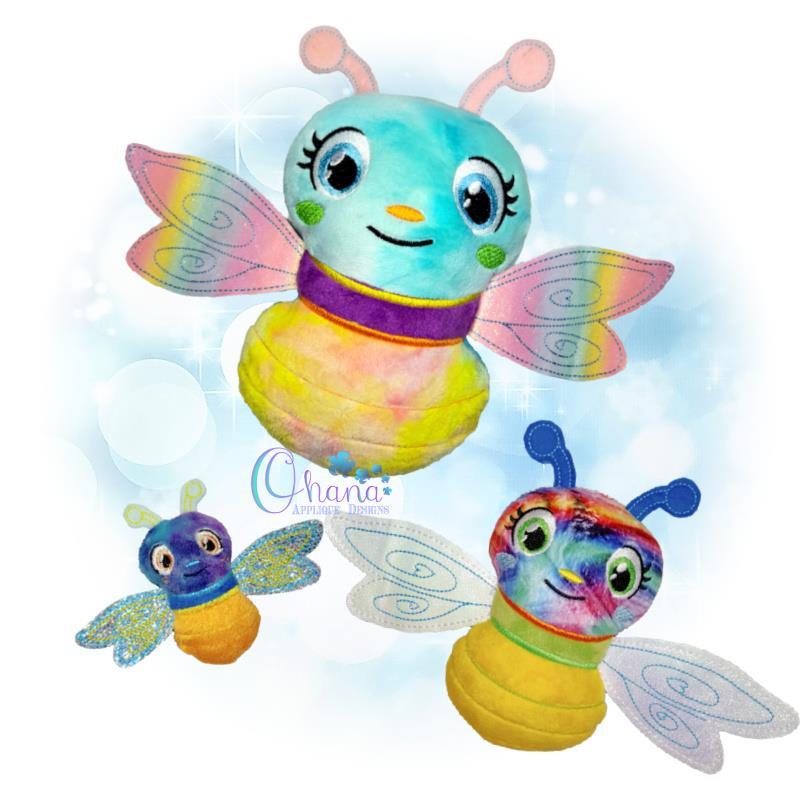OAD Firefly Stuffie Multi LB 80072