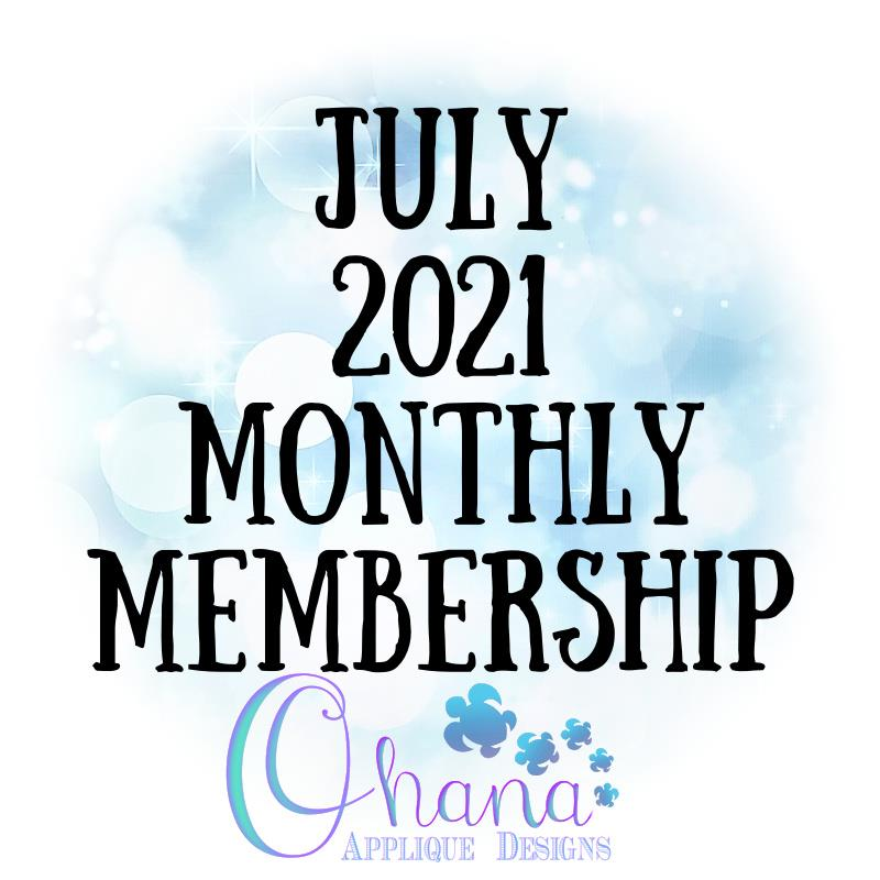 OAD July 2021 Monthly Membership