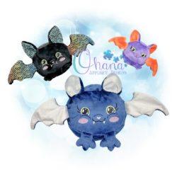 Ball Bat Stuffie Embroidery