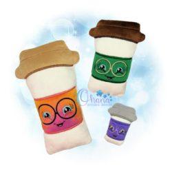 To Go Coffee Stuffie
