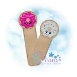 Donut Bookmark Embroidery Design