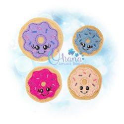 Donut Feltie Embroidery Design