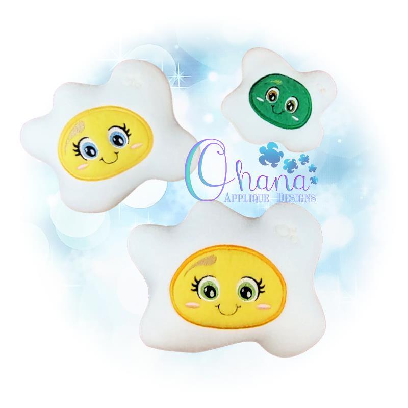 OAD Egg Stuffie EC 80072