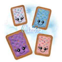Pastry Feltie Embroidery Design