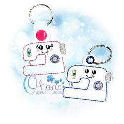 Sewing Machine Key Chain