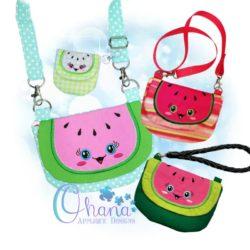 Watermelon Flap Bag Purse