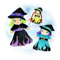 Witch Stuffie Embroidery