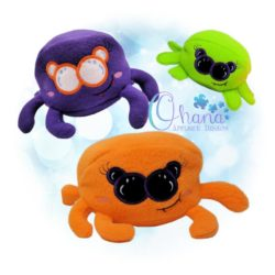 Ball Spider Stuffie Embroidery