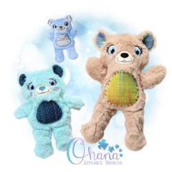 Ellie Mae Bear Stuffie