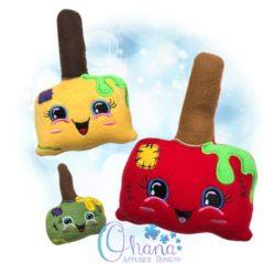 Frankenstein Candy Apple Stuffie