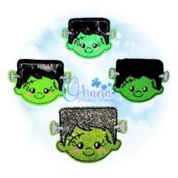 Frankenstein Feltie Embroidery Design