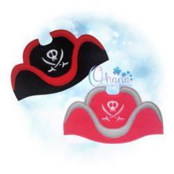 Pirate Hat Mask Band