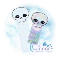 Skeleton Bookmark Embroidery Design