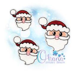 Santa Feltie Embroidery Design
